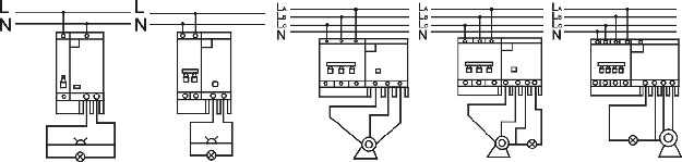 Dz47le C45nle Earth Leakage Circuit Breaker Elcb  From El Ectrical Components Direct Ltd